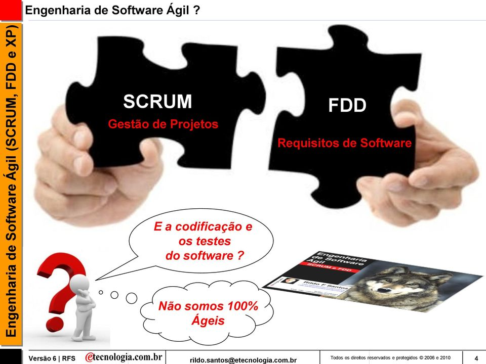 Software E a codificação e os testes do software?