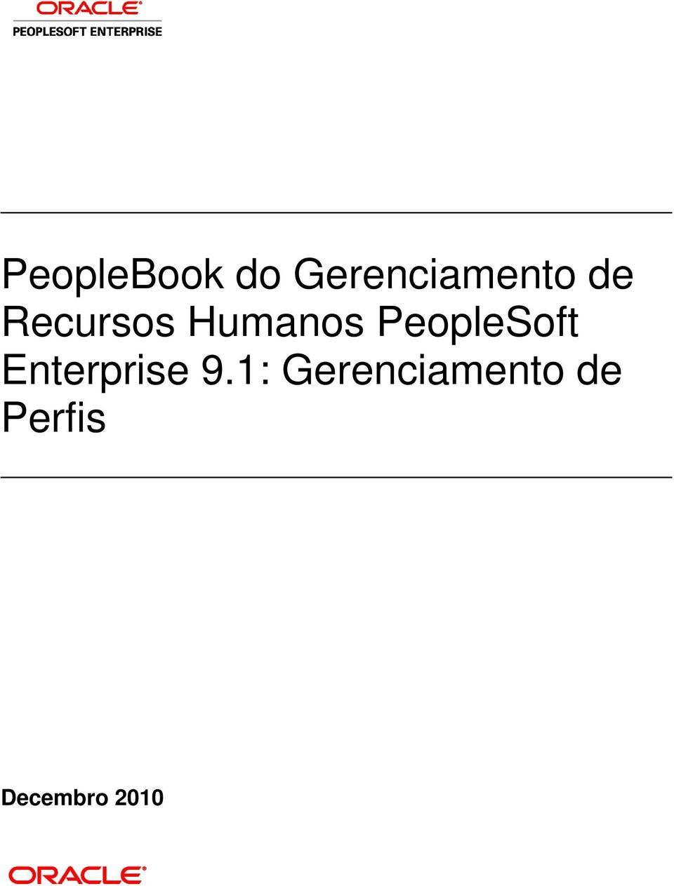 PeopleSoft Enterprise 9.
