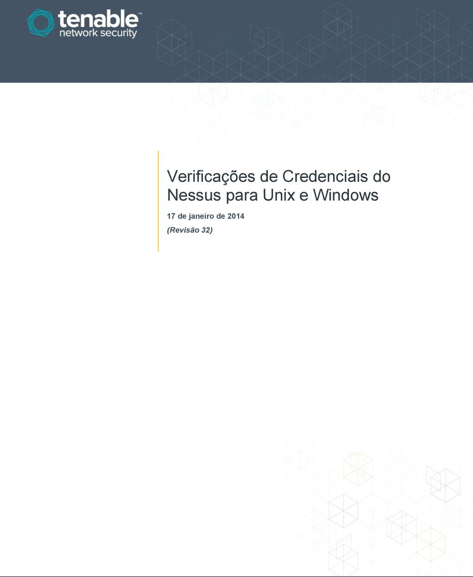 para Unix e Windows 17
