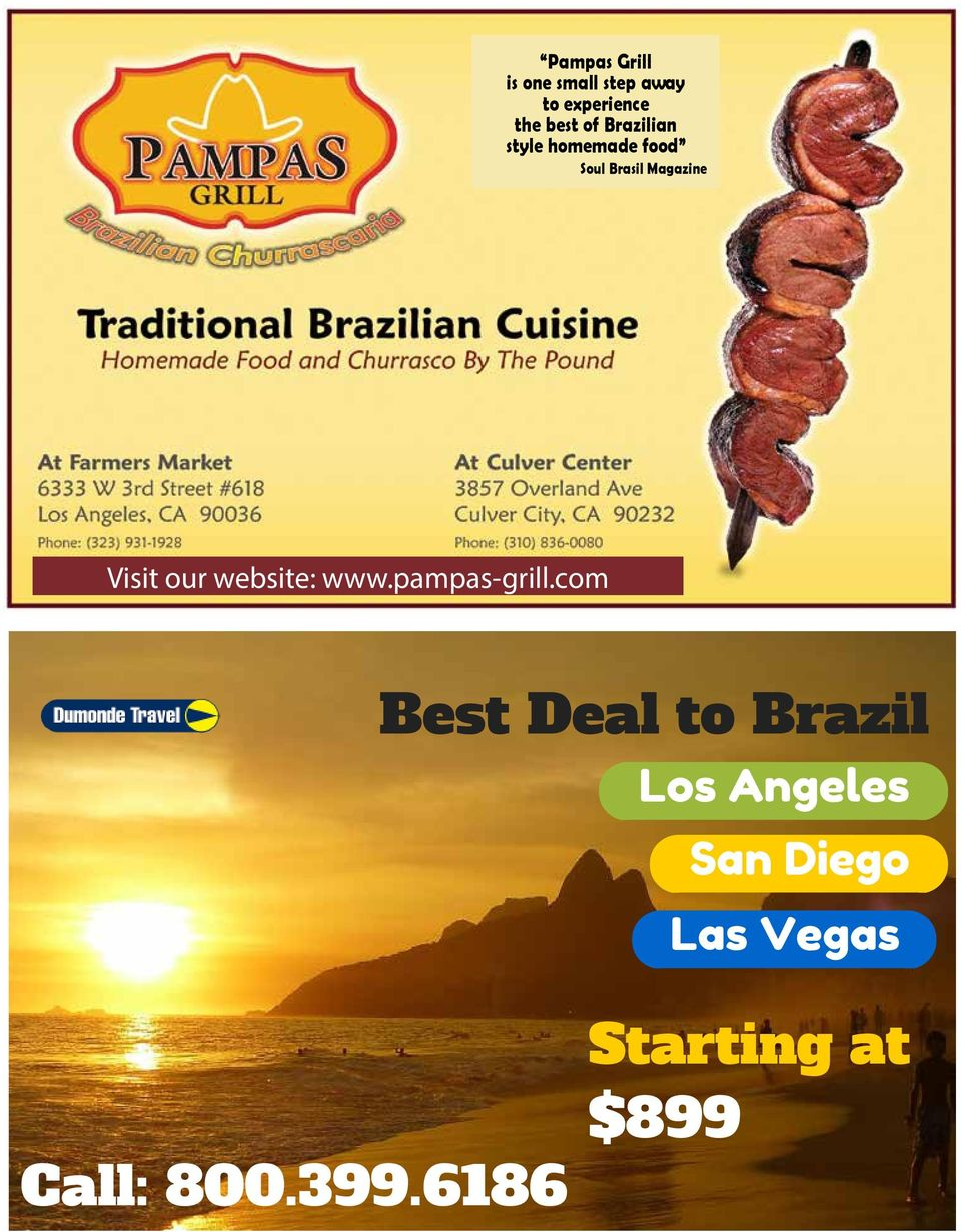 website: www.pampas-grill.com Call: 800.399.