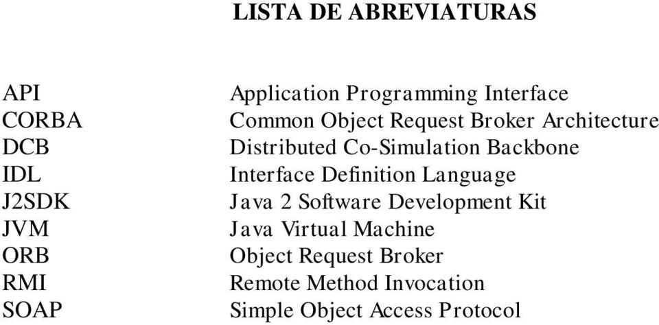 Co-Simulation Backbone Interface Definition Language Java 2 Software Development
