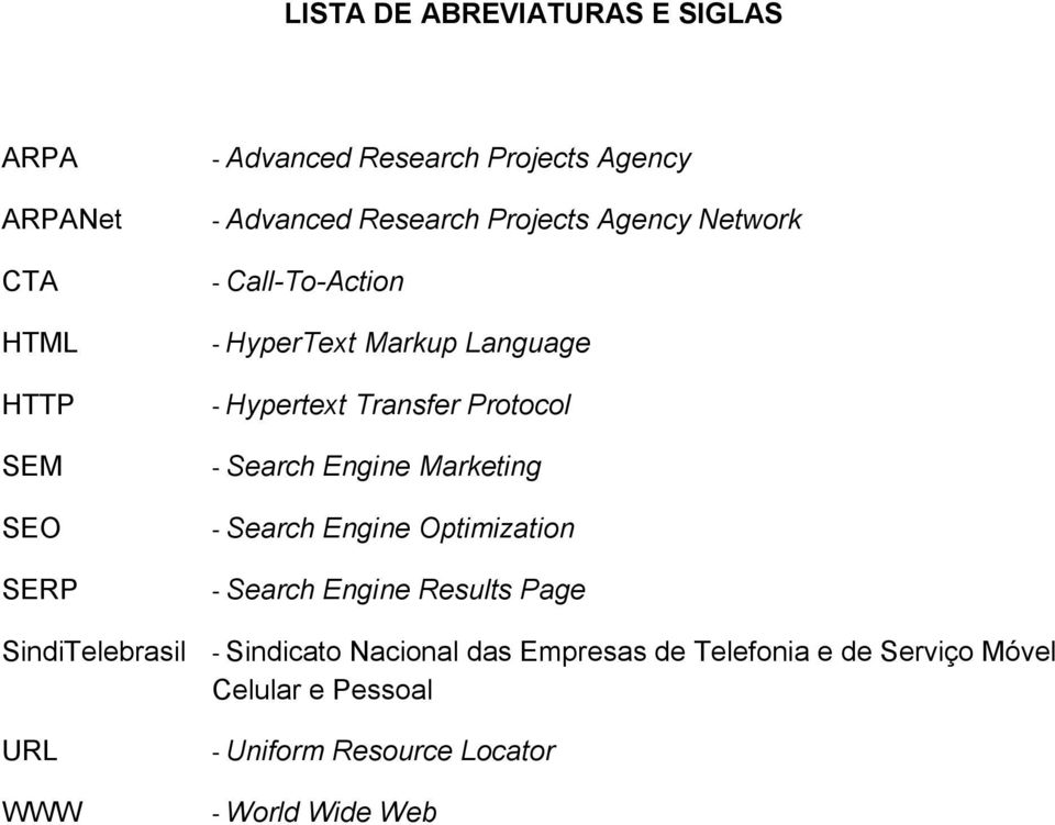 Protocol - Search Engine Marketing - Search Engine Optimization - Search Engine Results Page SindiTelebrasil -