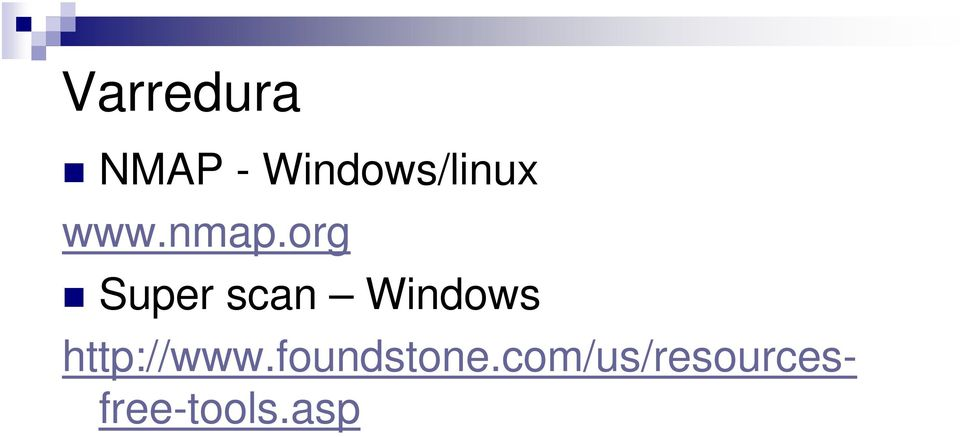 org Super scan Windows