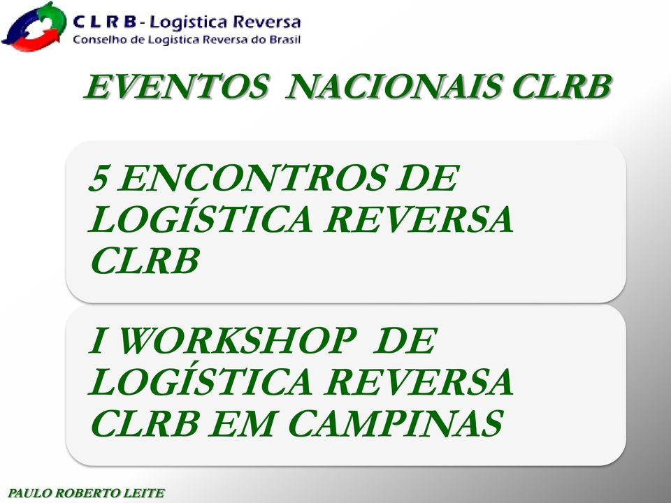 REVERSA CLRB I WORKSHOP DE