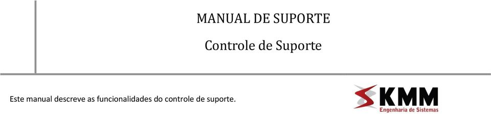 manual descreve as