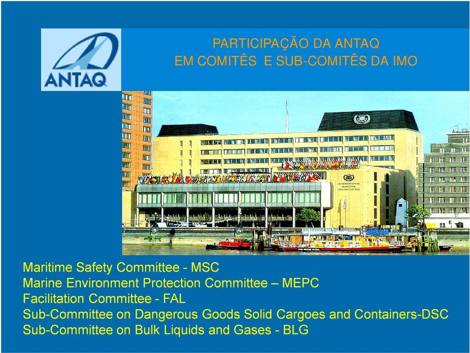 Facilitation Committee - FAL Sub-Committee on Dangerous Goods Solid