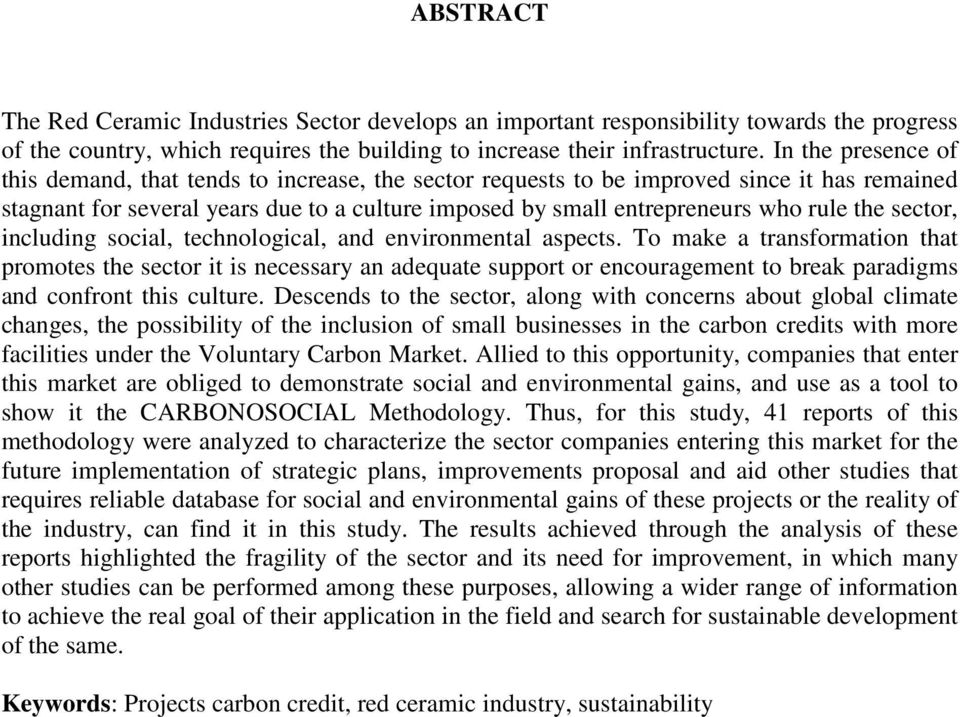 the sector, including social, technological, and environmental aspects.