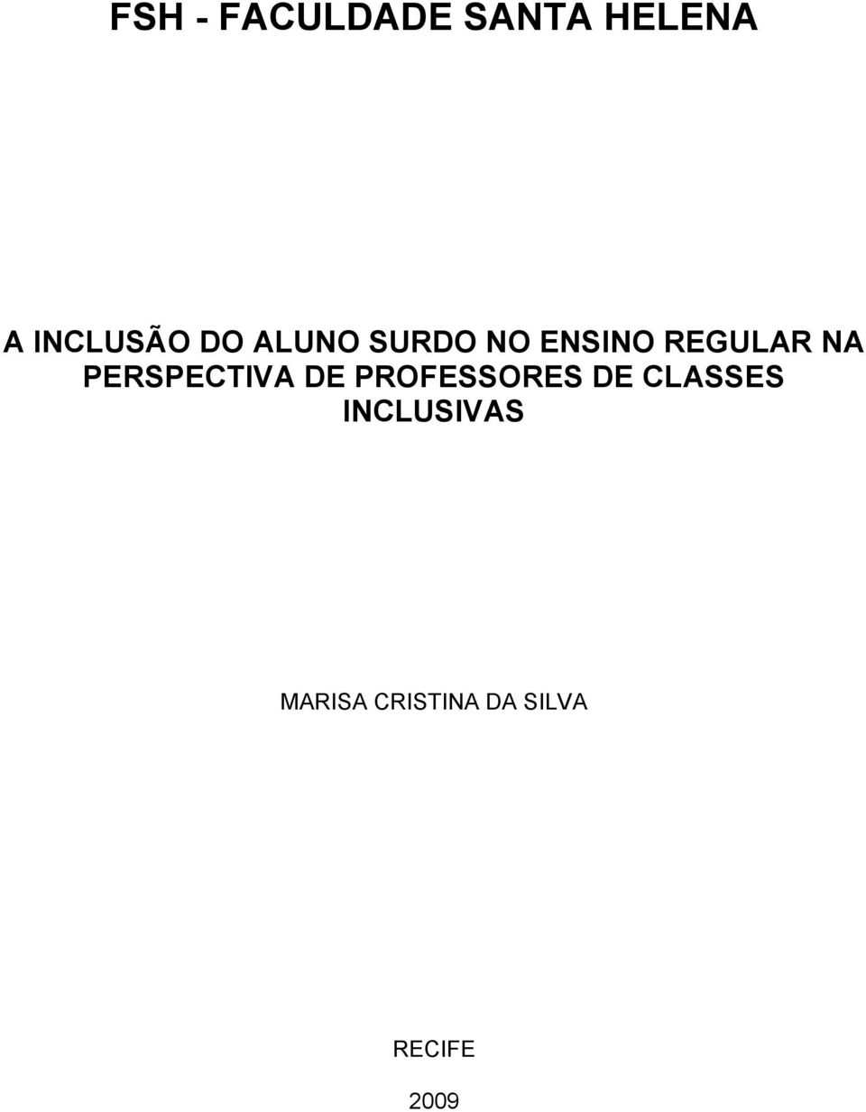 PERSPECTIVA DE PROFESSORES DE CLASSES