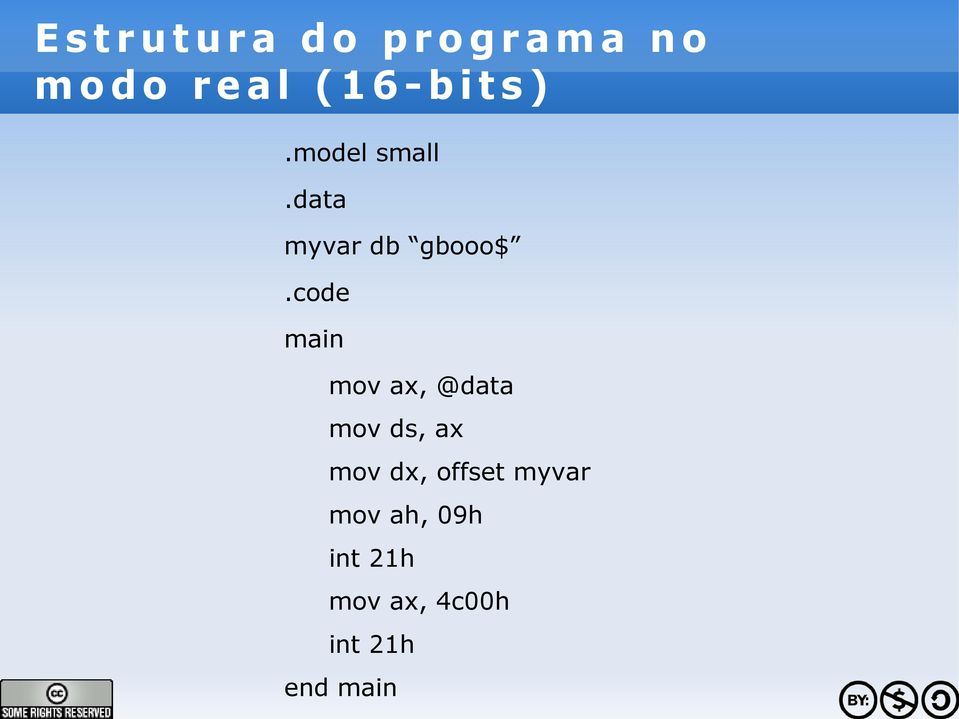code main mov ax, @data mov ds, ax mov dx,