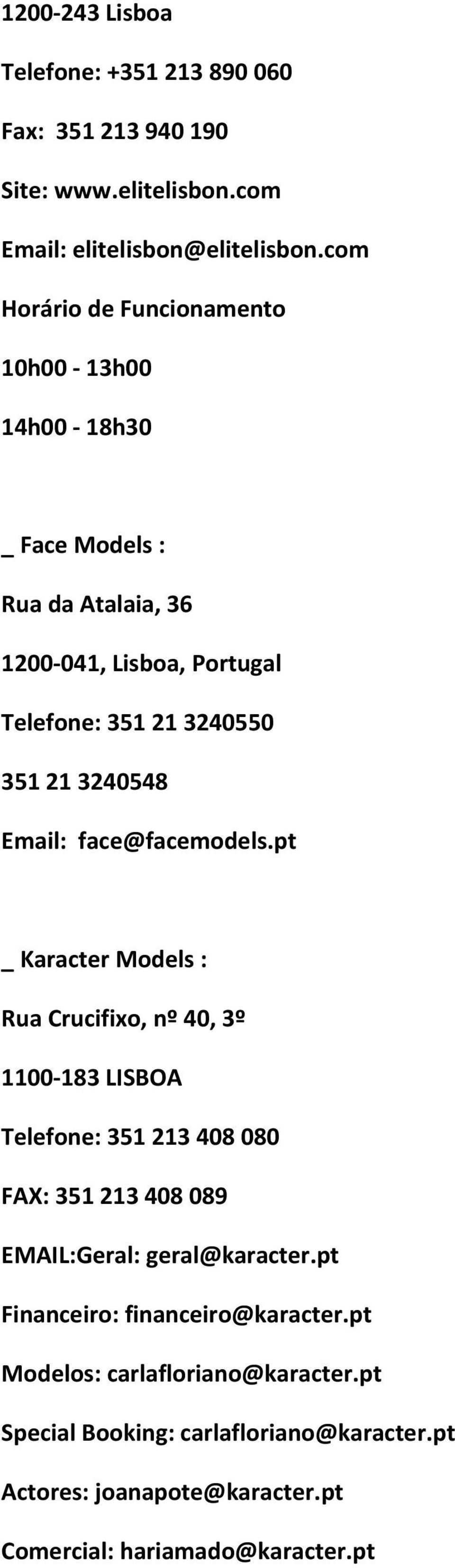 Email: face@facemodels.