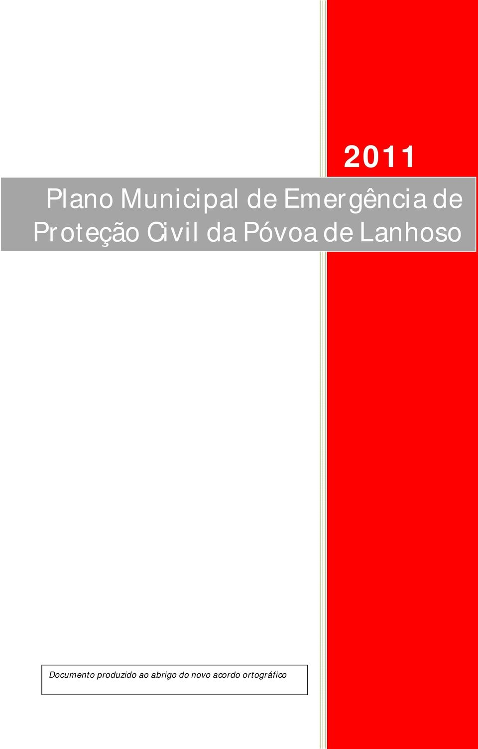 Póvoa de Lanhoso Documento