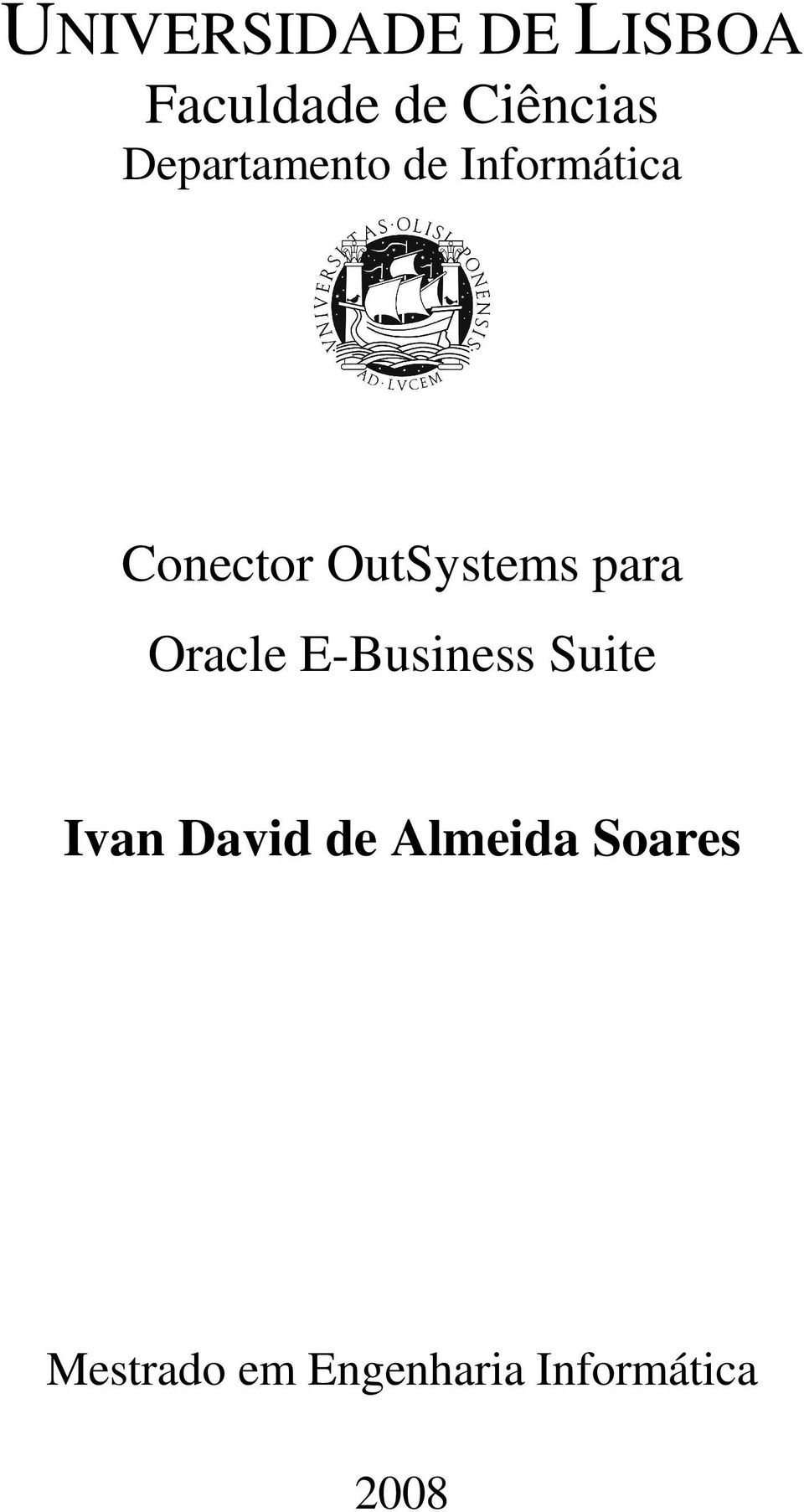 para Oracle E-Business Suite Ivan David de