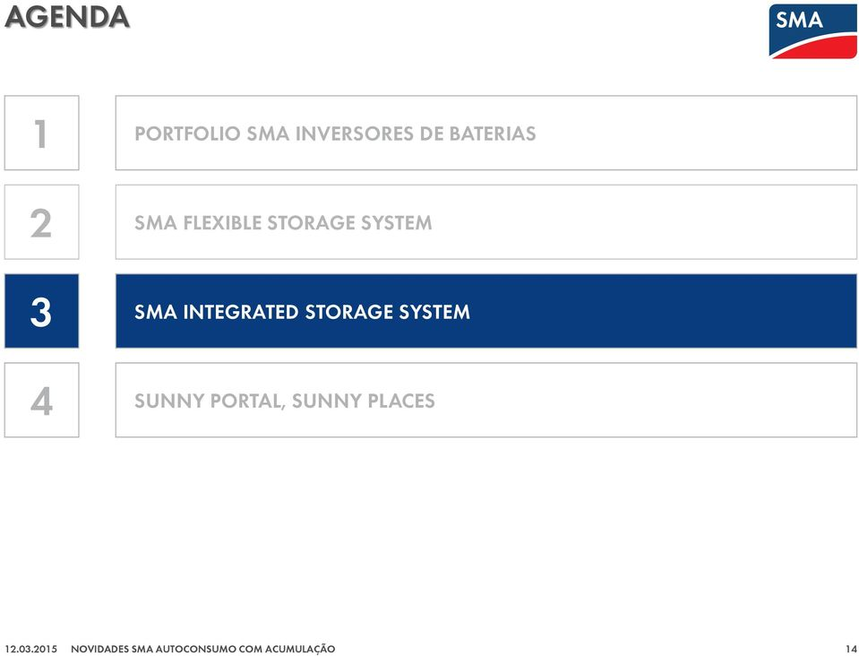 FLEXIBLE STORAGE SYSTEM SMA