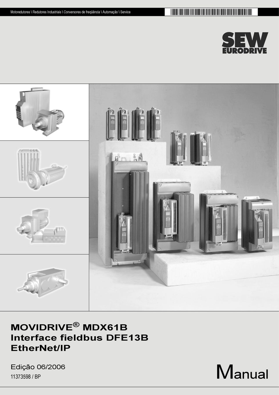 Service MOVIDRIVE MDX61B Interface fieldbus
