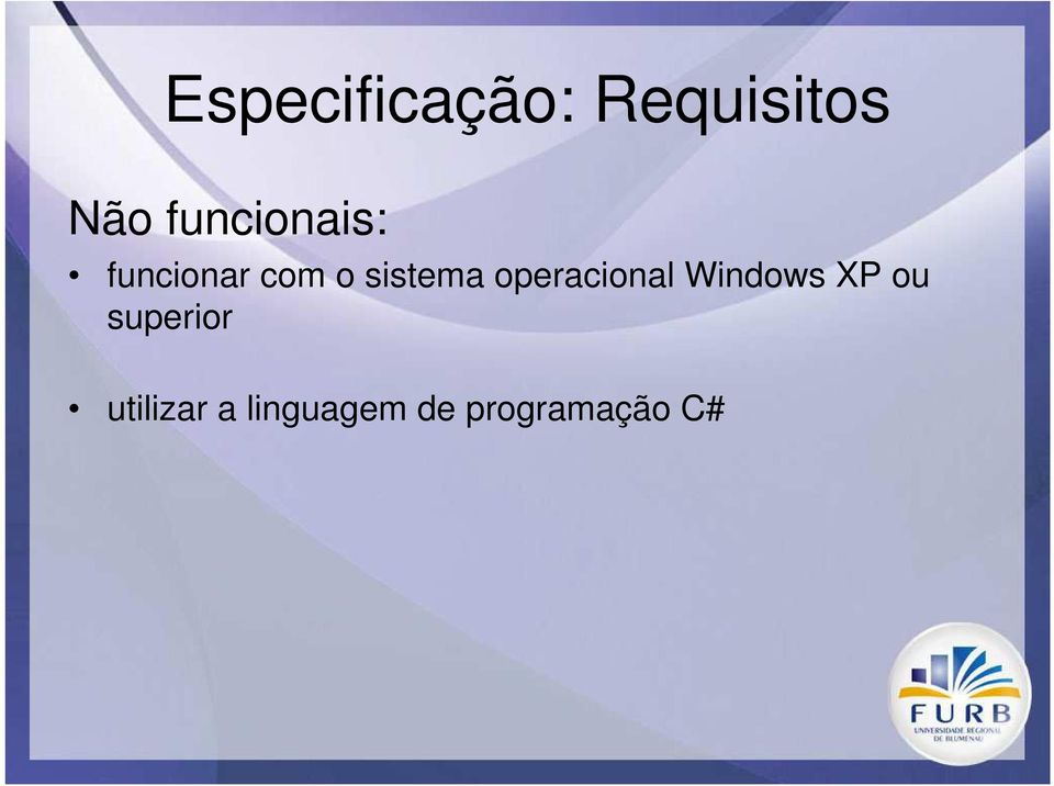 sistema operacional Windows XP ou