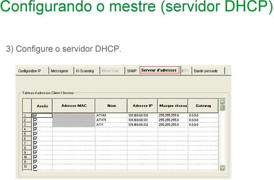 DHCP) 3)