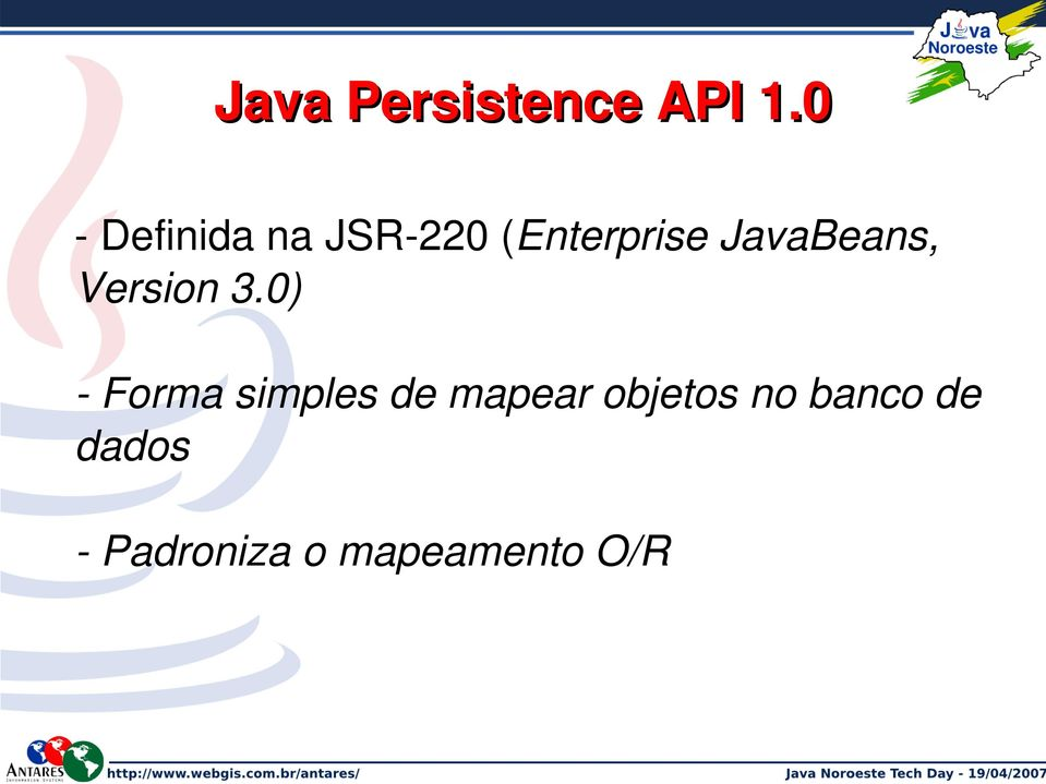 JavaBeans, Version 3.