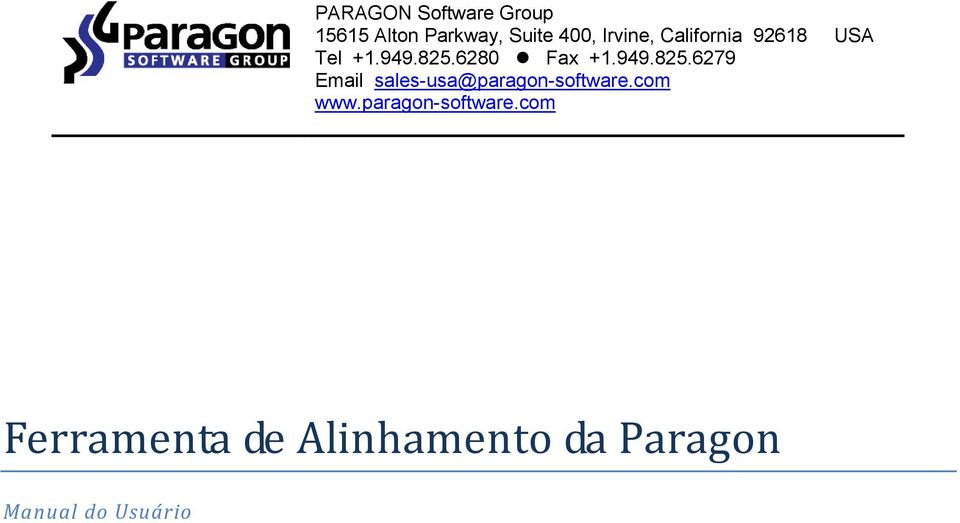 6280 Fax +1.949.825.6279 Email sales-usa@paragon-software.