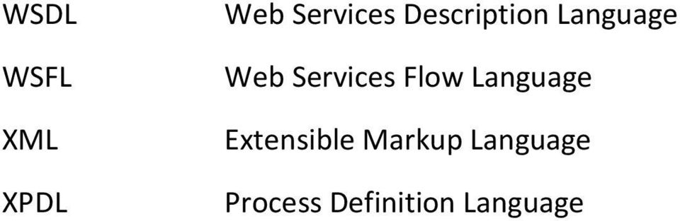 Flow Language Extensible Markup