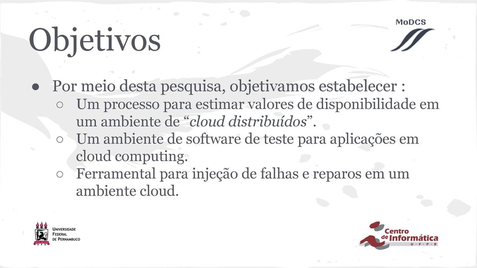 cloud distribuídos.
