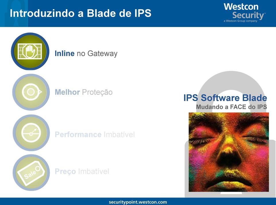 Software Blade Mudando a FACE do