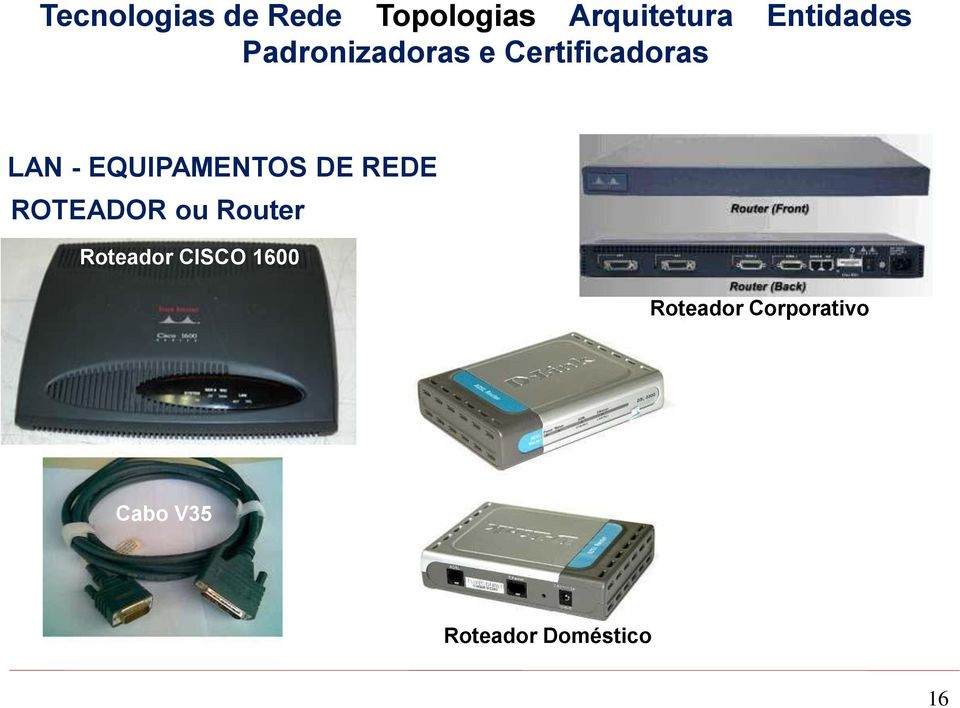 CISCO 1600 Roteador