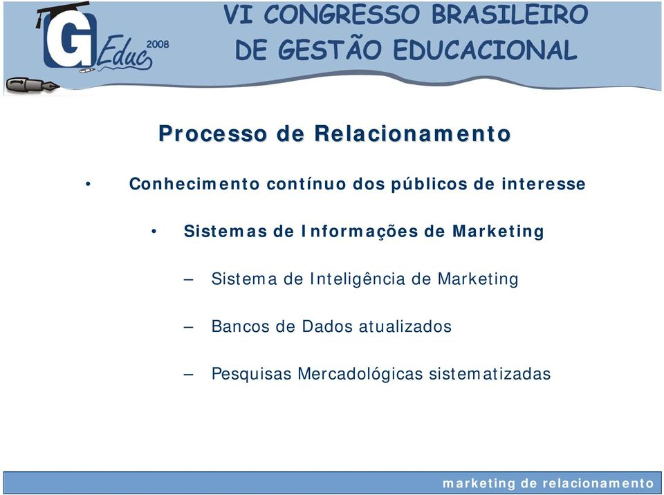 Marketing Sistema de Inteligência de Marketing Bancos