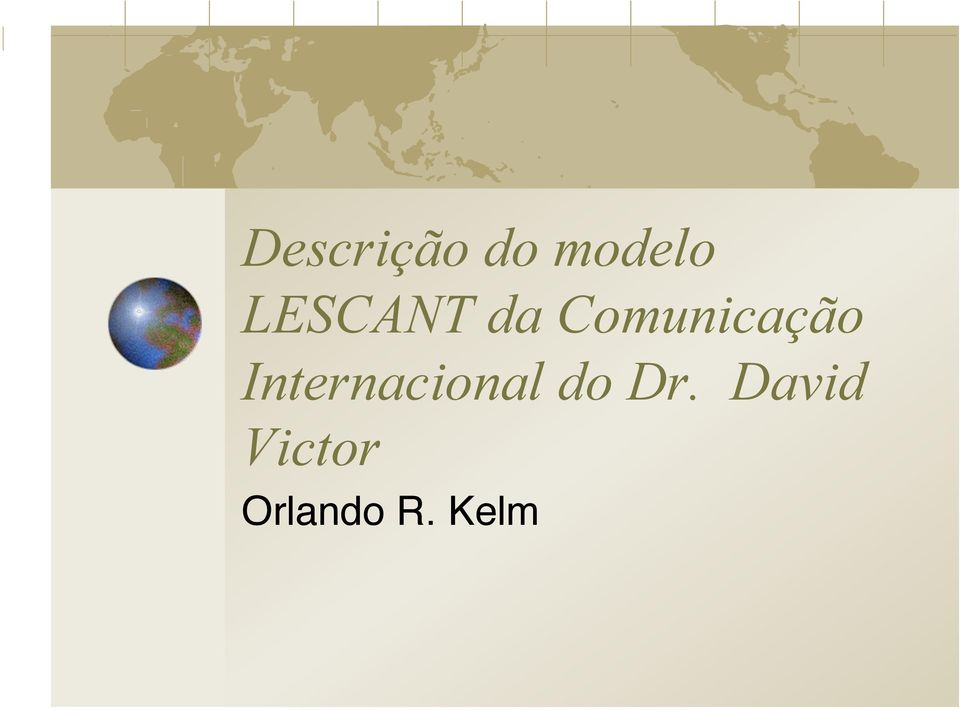 Internacional do Dr.