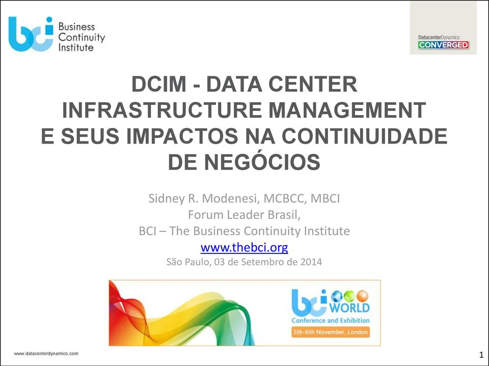 Modenesi, MCBCC, MBCI Forum Leader Brasil, BCI The
