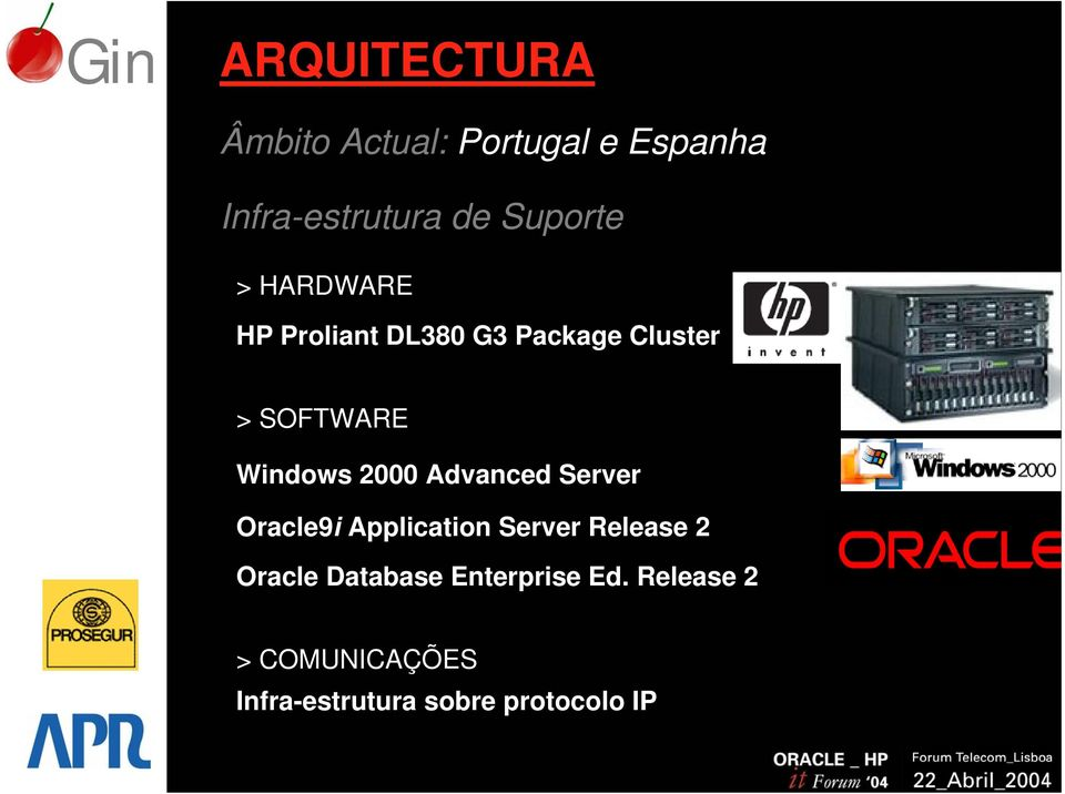 Windows 2000 Advanced Server Oracle9i Application Server Release 2
