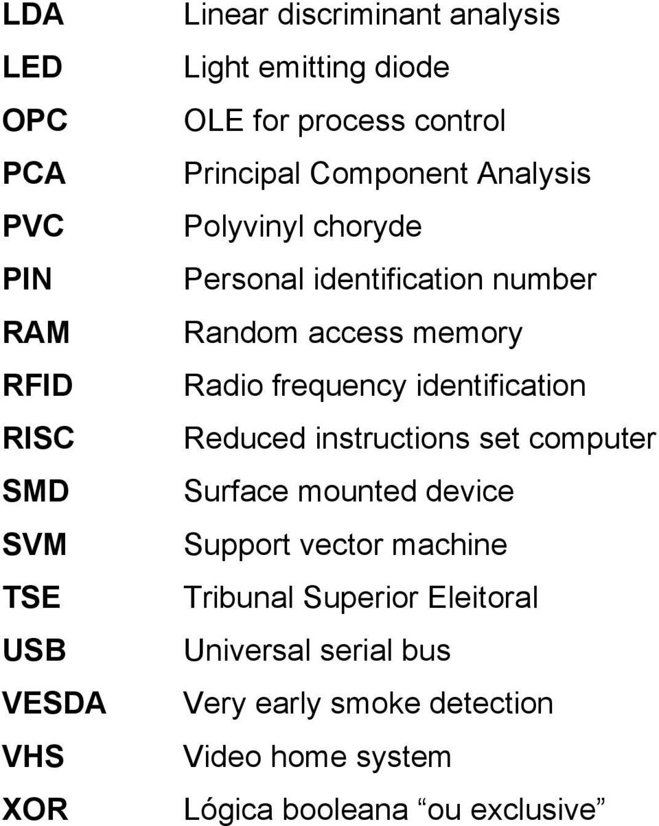 memory Radio frequency identification Reduced instructions set computer Surface mounted device Support vector machine