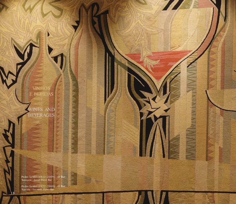Tapeçaria - Local: Piano Bar  Tapestry -