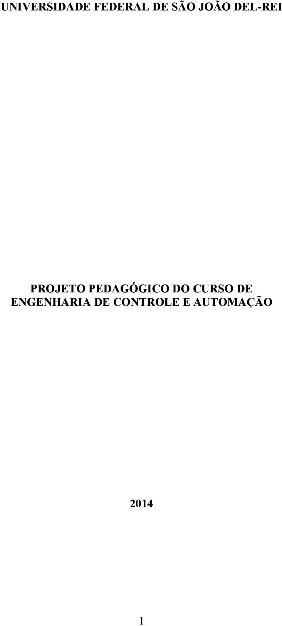 PEDAGÓGICO DO CURSO DE