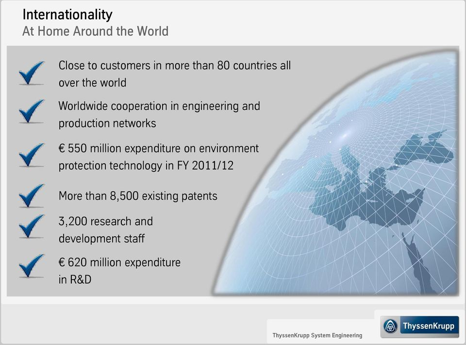 networks 550 million expenditure on environment protection technology in FY 2011/12