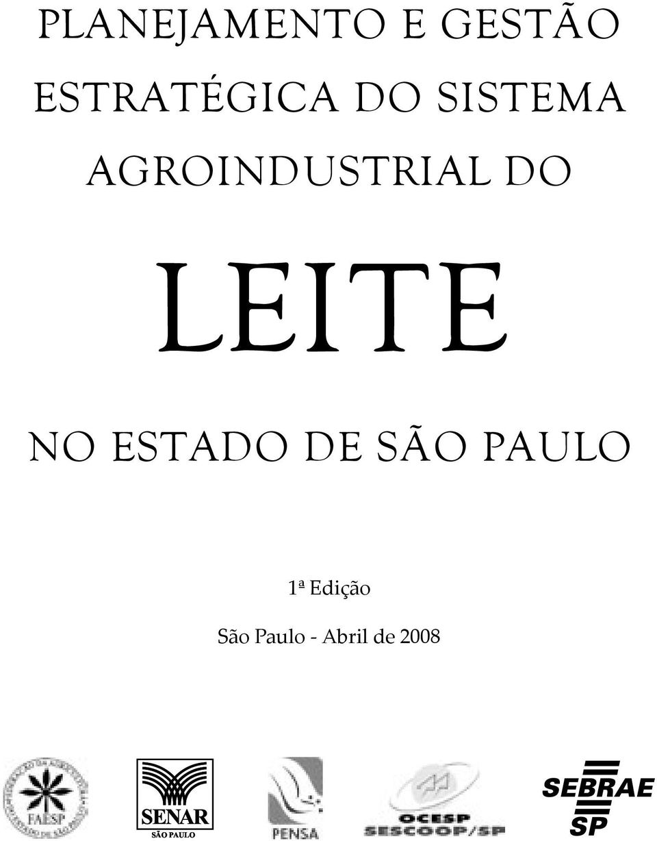 AGROINDUSTRIAL DO LEITE NO