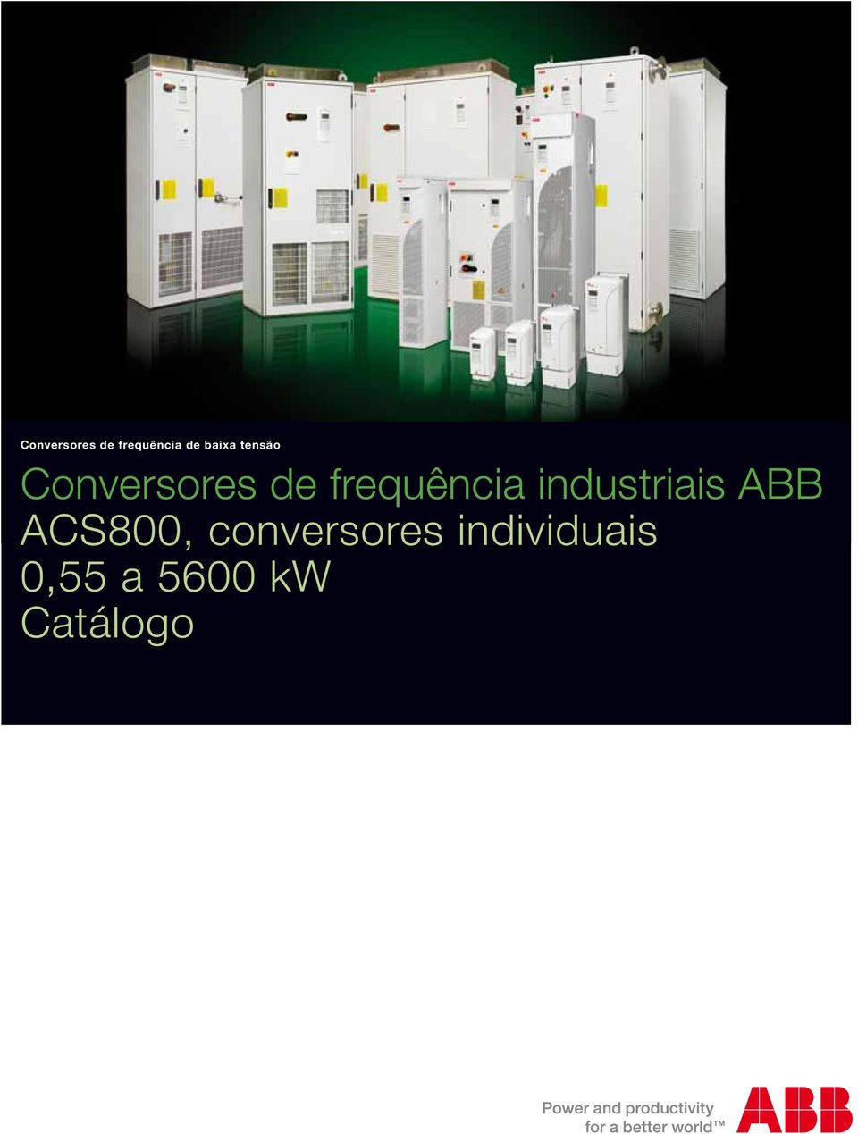industriais ABB ACS800,