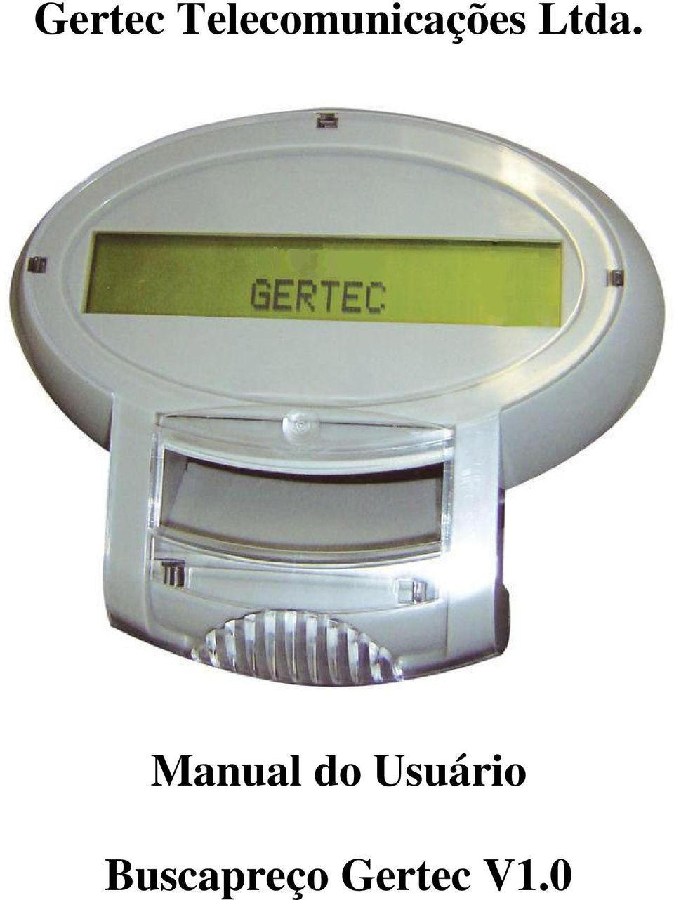 Ltda. Manual do