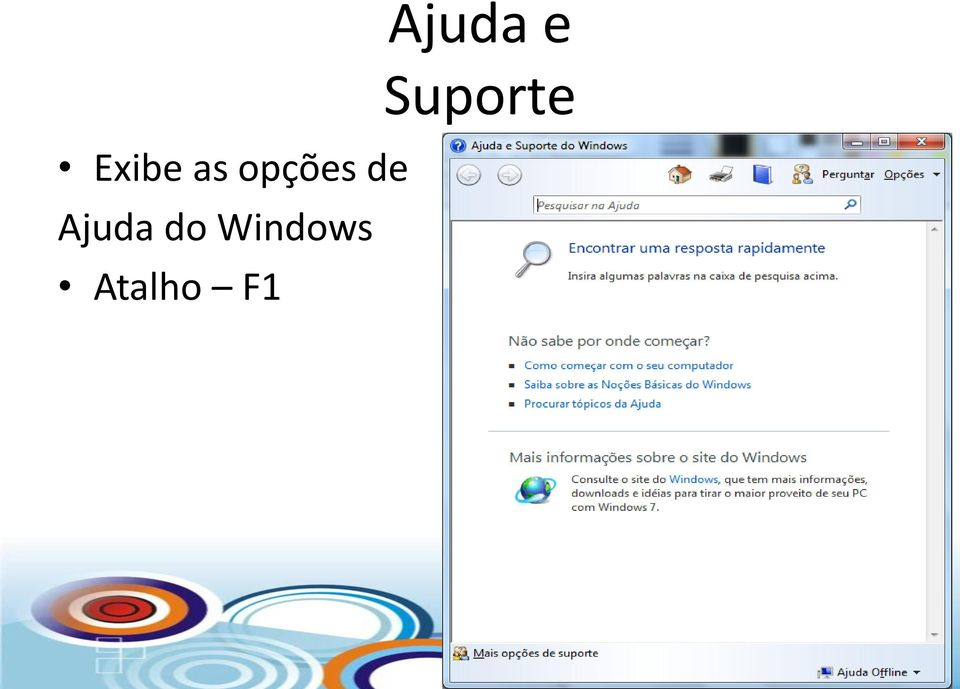 Windows Atalho