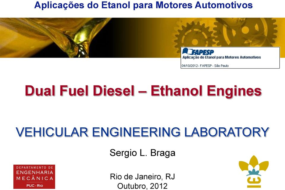 Engines VEHICULAR ENGINEERING
