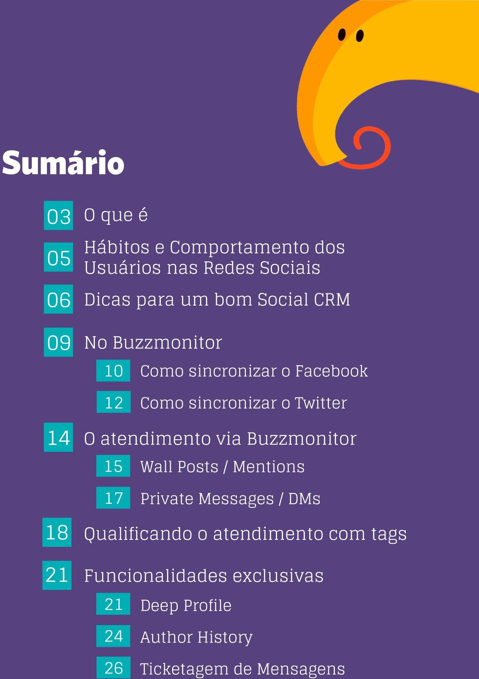 atendimento via Buzzmonitor 15 Wall Posts / Mentions 17 Private Messages / DMs 18 Qualificando o