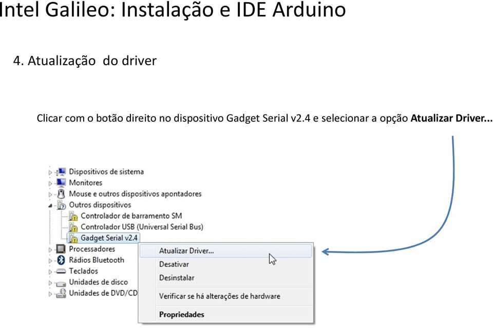 dispositivo Gadget Serial v2.