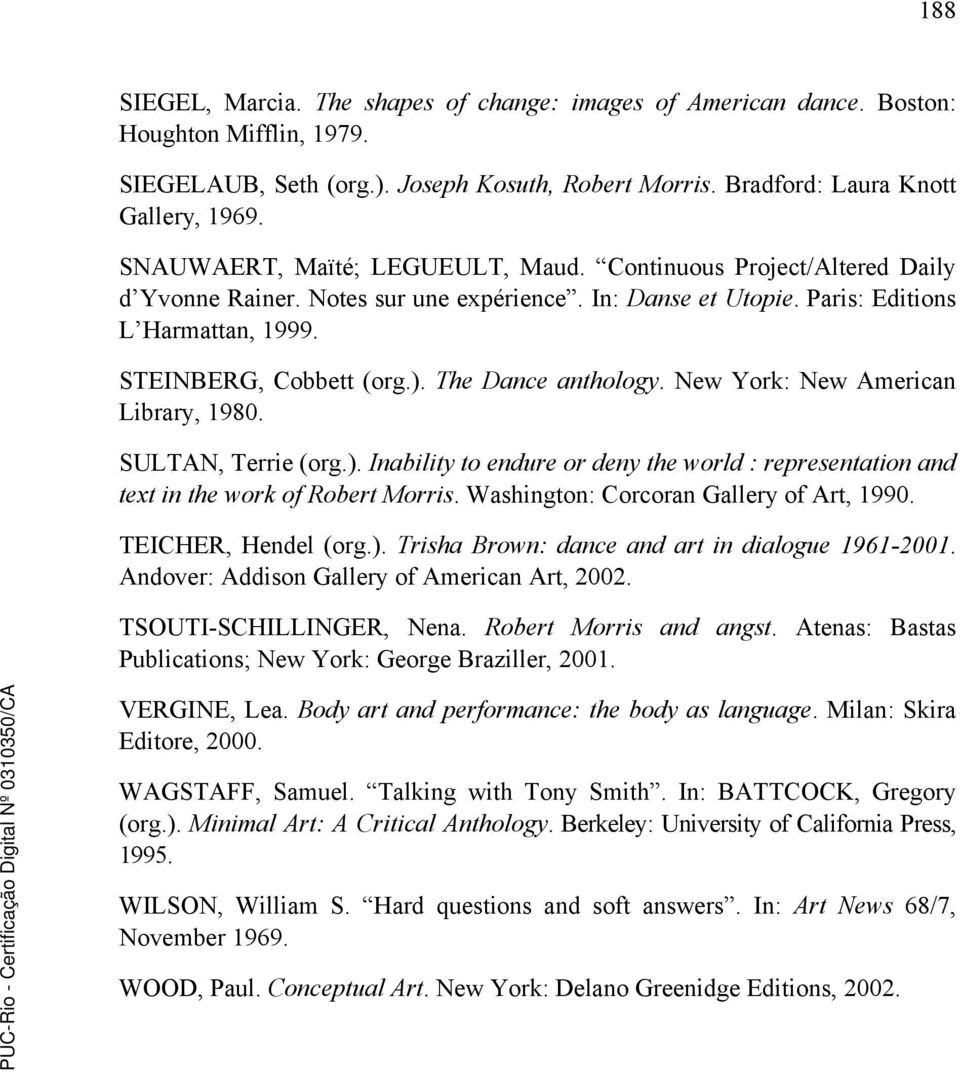 7 referncias bibliogrficas pdf the dance anthology new york new american library 1980 sultan terrie fandeluxe Choice Image