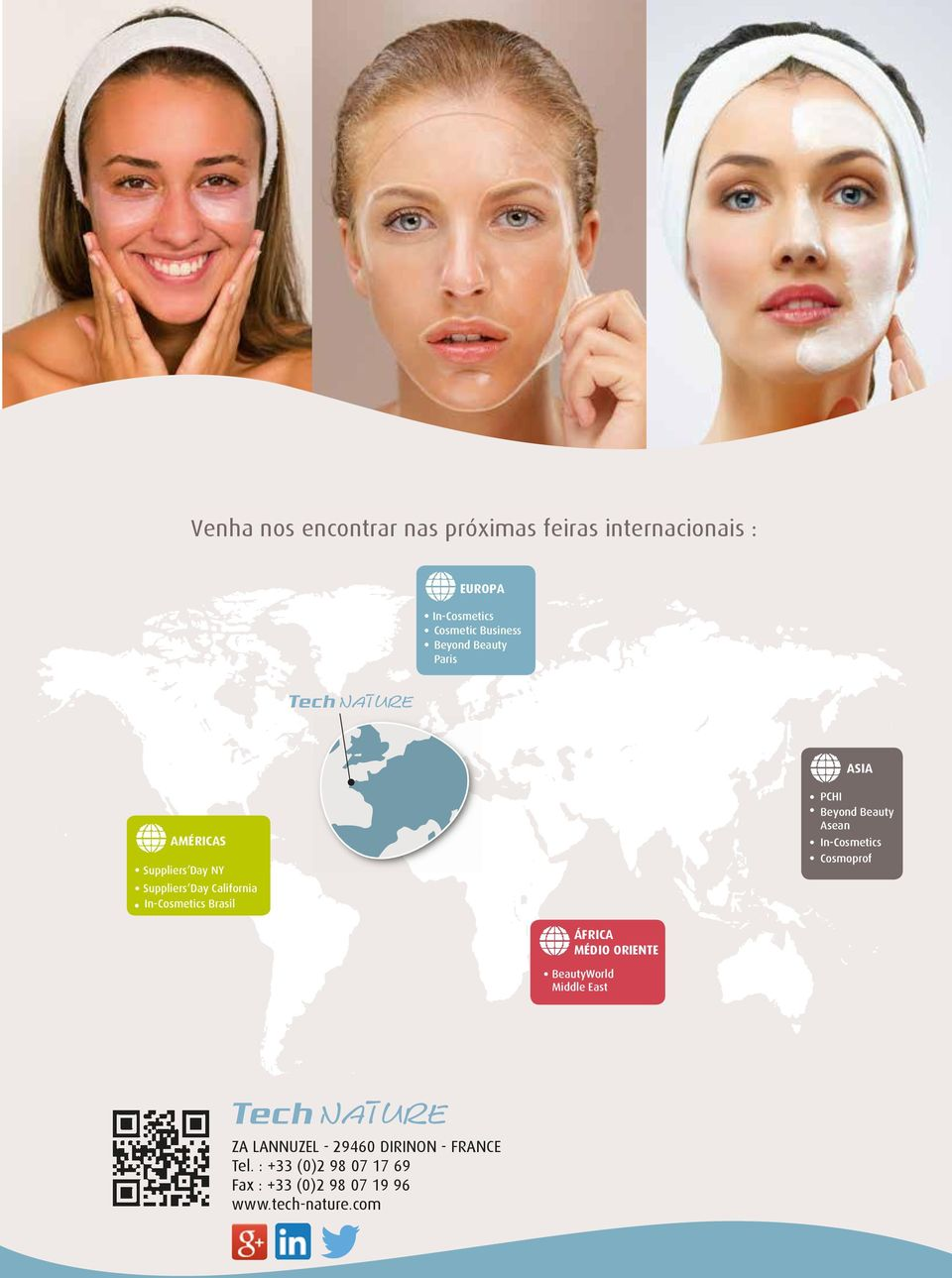 PCHI Beyond Beauty Asean In-Cosmetics Cosmoprof ÁFRICA MÉDIO ORIENTE BeautyWorld Middle East ZA