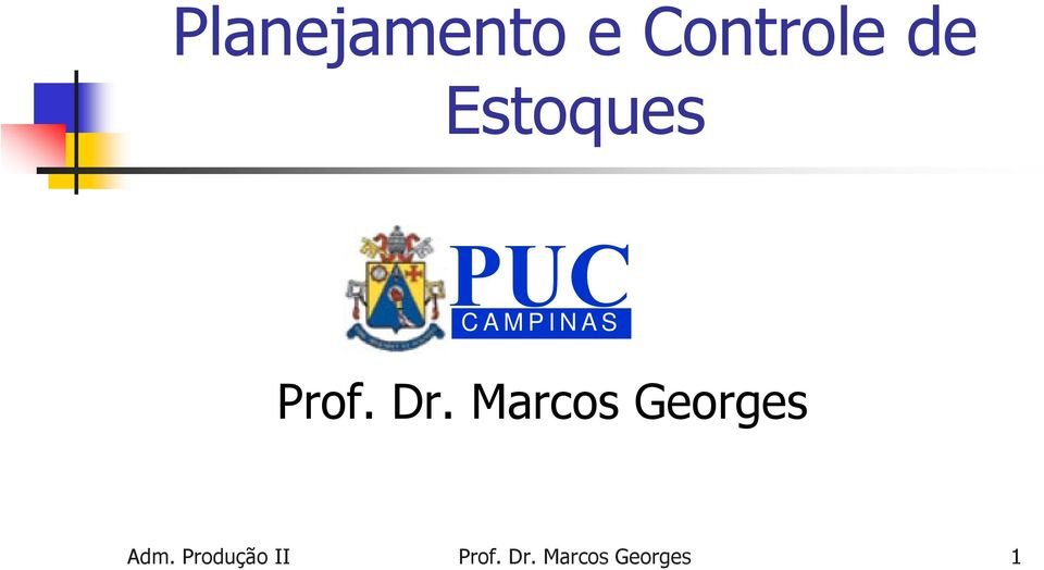Marcos Georges Adm.