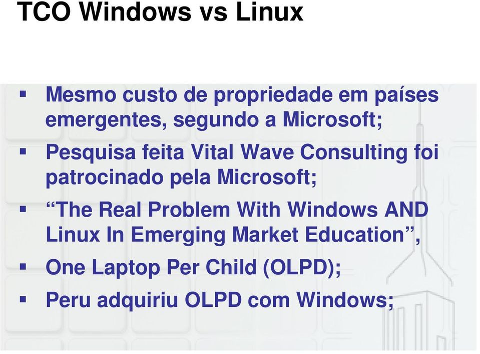 patrocinado pela Microsoft; The Real Problem With Windows AND Linux In