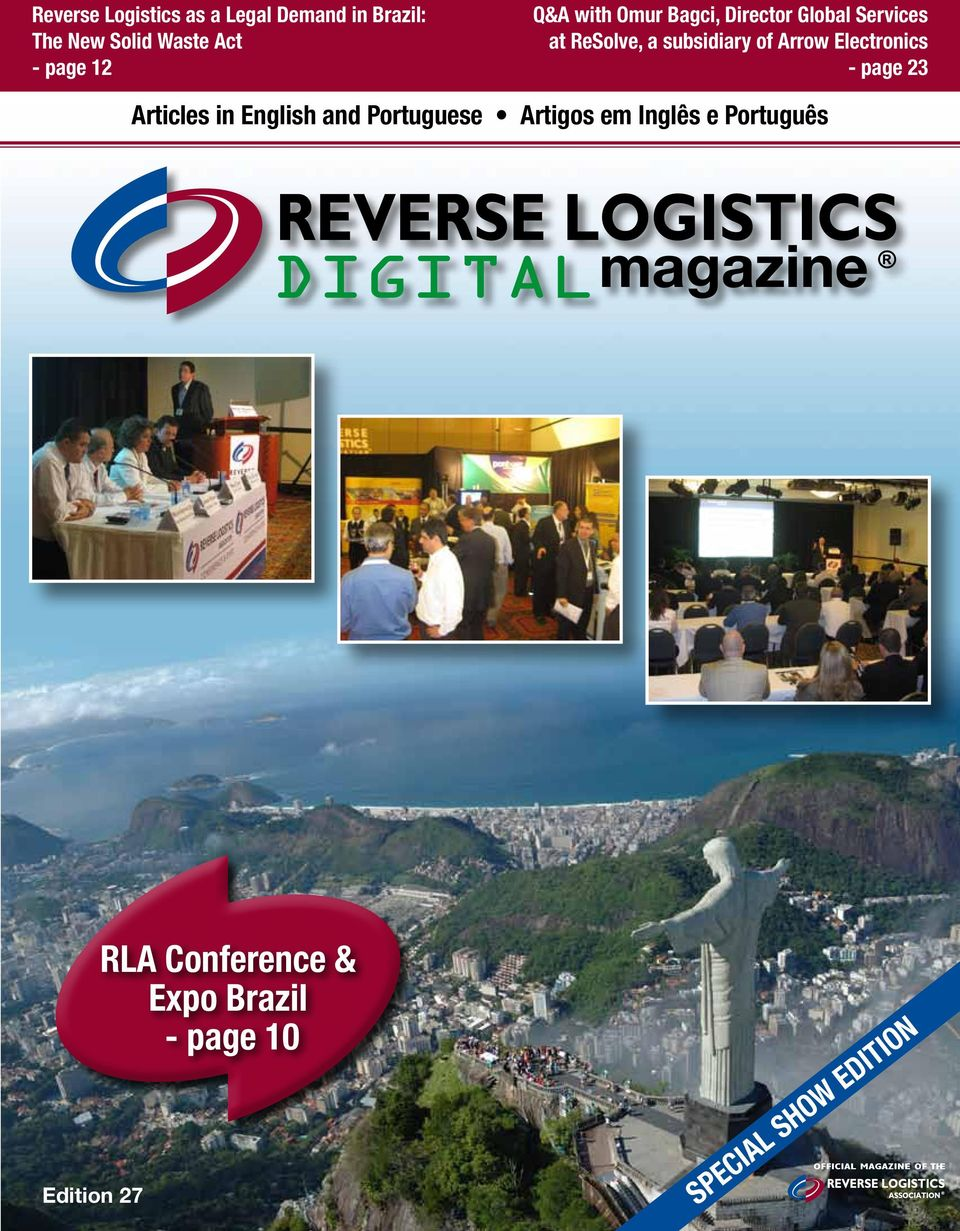 Arrow Electronics - page 23 Articles in English and Portuguese Artigos em