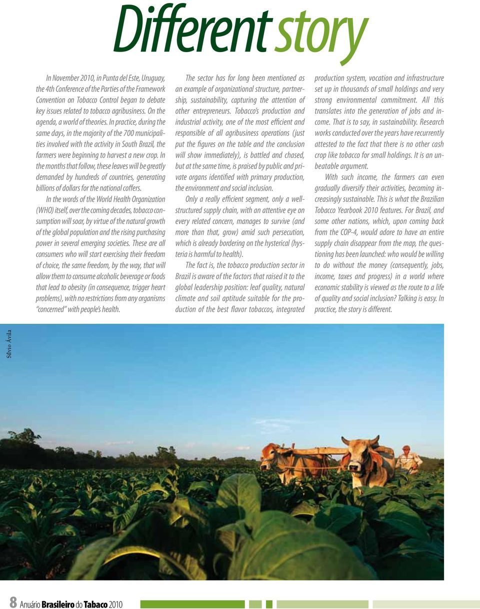In practice, during the same days, in the majority of the 700 municipalities involved with the activity in South Brazil, the farmers were beginning to harvest a new crop.