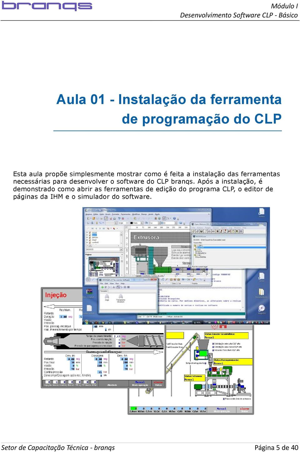 software do CLP branqs.
