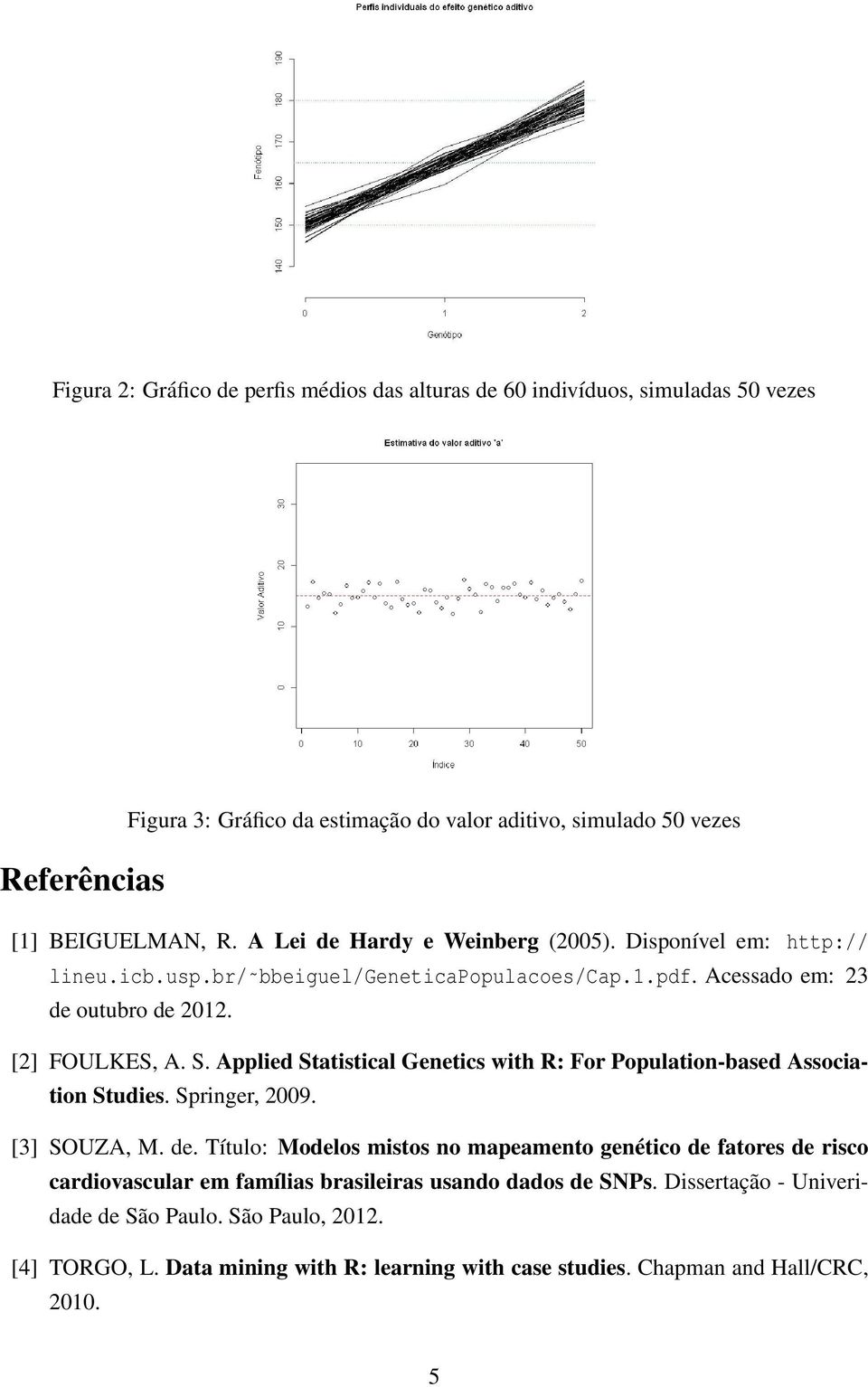 Applied Statistical Genetics with R: For Population-based Association Studies. Springer, 2009. [3] SOUZA, M. de.