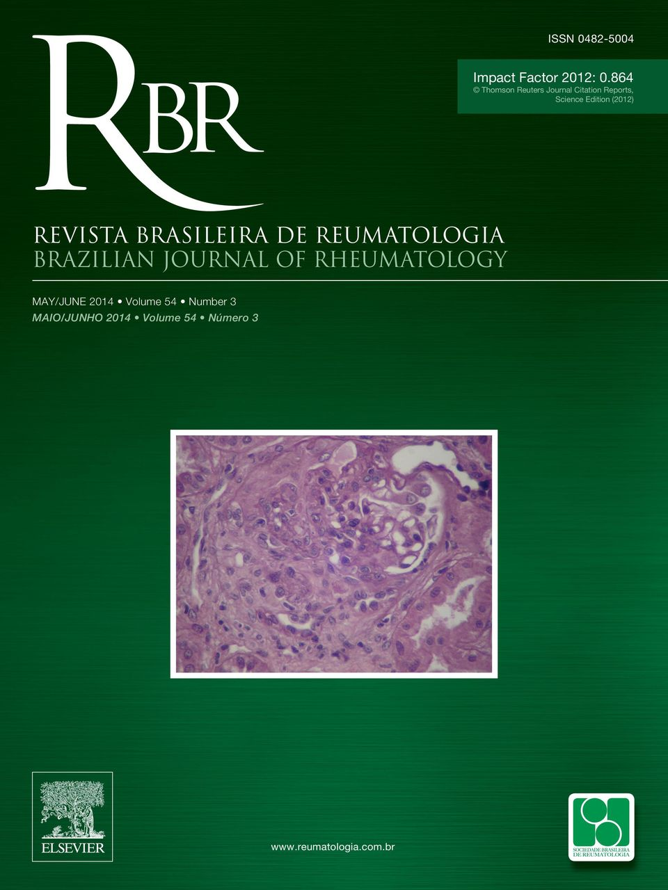 (2012) REVISTA BRASILEIRA DE REUMATOLOGIA BRAZILIAN JOURNAL OF